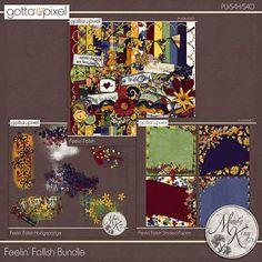 Feelin' Fallish Digital Scrapbook Bundle at Gotta Pixel. www.gottapixel.net/