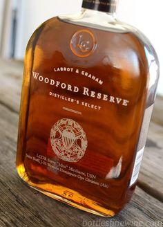 Custom engraved bottle of Woodford Reserve Bourbon Good Whiskey, Bourbon Whiskey, Whiskey Distillery, Whisky, Woodford Reserve Bourbon, Bourbon Brands, Best Bourbons, Strong Drinks, Watermelon Margarita