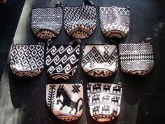 Aguacatan crochet bag, round - Click Image to Close