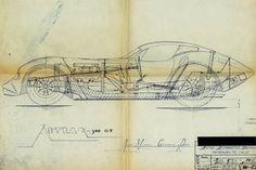 Kellison Sports GT Fiberglass cars of Car Design Sketch, Car Sketch, Le Mans, Weird Cars, Car Drawings, Technical Drawing, Automotive Design, Custom Cars, Concept Cars