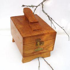 Shoe Shine Kit Mad Men Shoe Shine Box Dovetail Wood Box Men Gift Ideas