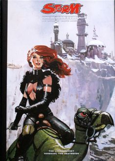 Storm The Collection Part The Living Planet and Vandaahl the Destroyer (Limited Edition), 2008 Storm Comic, Heavy Metal Art, Comic Art Girls, Call Art, Sword And Sorcery, Retro Futurism, Sci Fi Art, Comic Artist, Science Fiction