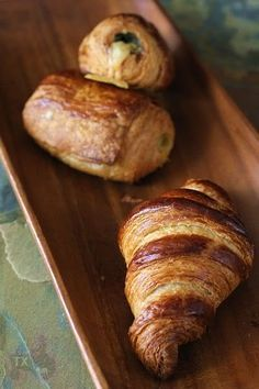Whole Wheat Croissant with Sourdough Starter - add savoury fillings in case it's not rich enough | The Fresh Loaf