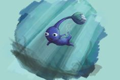 Blue Pikmin by Smearg on deviantART