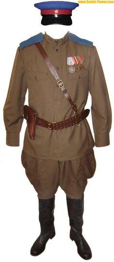 military uniforms | Soviet Army NKVD Officer military Uniform