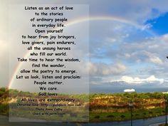 Meditation Monday - Listening to Facebook