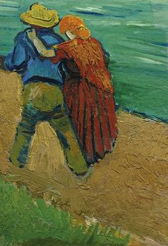 The Loving Couple ~ Vincent van Gogh