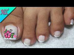 Pedicure Nail Art, Toe Nail Art, Toe Nails, Manicure, Summer Toe Designs, Best Acrylic Nails, Nail Designs, Beauty, Manzanita