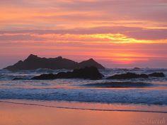 Beautiful Ocean Sunset | Ocean Sunset