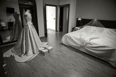 el traje de novia preparado para el gran día