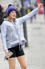 ELLIE GOULDING Leaves a Gym in London