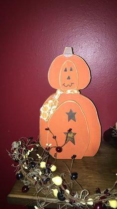 Primitive pumpkin https://m.facebook.com/pages/The-Cozy-Country-Craft-House/575638289196544
