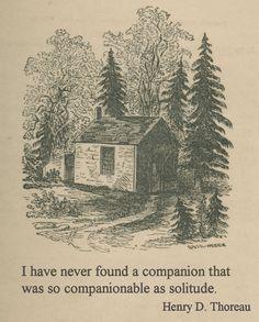 I love Henry D. Thoreau's quotes ♥...
