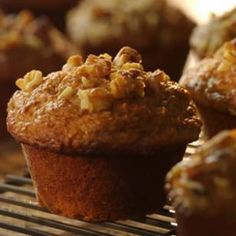 Banana bran muffins, healthy breakfast option