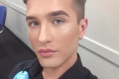 A male shop worker has slammed his bosses after claiming he was reprimanded for wearing make-up at work. WHY should anyone have to work with or be waited on a person so emotionally and psychologically unstable that they don't even know what their gender is?