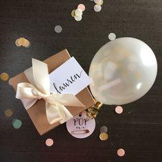 Will You Be My Bridesmaid Balloon Message Gift door saturdayiminlove