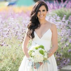 Relaxed side-swept curls are a lovely look for your wedding day | The Big Affair Photography