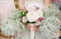 Decoração para casamentos com mosquitinho ou chuva de prata!