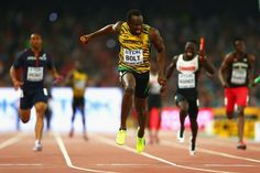 World Athletics Championships 2015: day eight – in pictures   Sport   In the men's relay, Usain Bolt brought the curtain down on a spine-tingling evening of athletics by anchoring Jamaica to a fourth successive men's 4x100m title