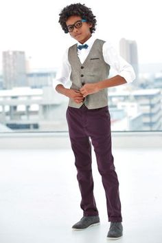 Buy Waistcoat, Shirt And Geo Bow Tie Set (12mths-16yrs) from the Next UK online shop