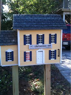Toutes Choses Égales - These are a few of the Little Free Libraries...