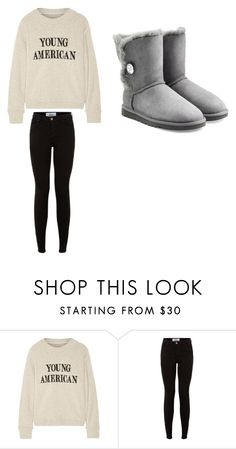 """""""Untitled #137"""" by chantelb233 on Polyvore featuring The Elder Statesman and UGG Australia"""