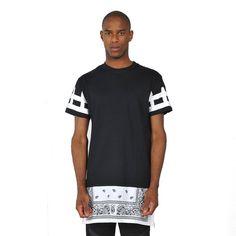 Zero Unisex Cashews Tattoos Hip Hop Side Zip up Extra Long T Shirts (S ( US Size XS ), No.3)