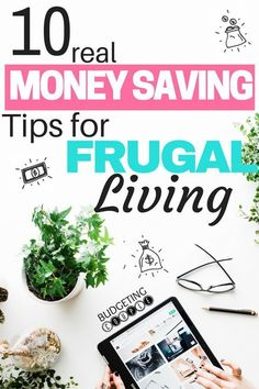 Want to start Saving Money? Check out these 10 Money Saving Tips for Frugal Living! Want to save money and live frugally this year? Here's 10 Awesome Saving Money Tips to get you there! Saving Money and Frugal Living Made Easy! Best Money Saving Tips, Money Tips, Saving Money, Money Hacks, Money Savers, Save Money On Groceries, Ways To Save Money, Groceries Budget, Earn Money