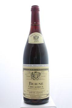 Louis Jadot (Domaine Gagey) Beaune Chouacheux 2009. France, Burgundy, Beaune, Premier Cru. 9 Bottles á 0,75l. Estimate (11/2016): 325 USD (36,11 USD (880 CZK) / Bottle).