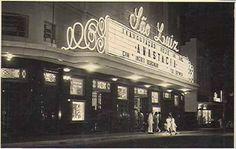 Inauguração do Cine São Luiz, década de 50.
