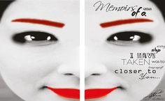 memoirs of a geisha, new book poster