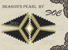 Схема кольца -Драконий жемчуг-