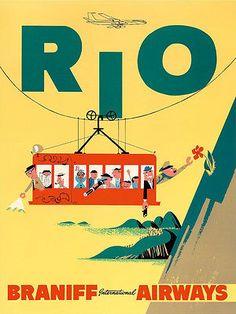 Rio - Braniff Airlines