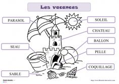 vocabulaire vacances 001 Core French, Teaching French, Amazing Adventures, Traveling By Yourself, Classroom, Comics, Kids, Packing Tips, Pirates