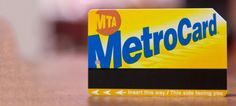 Why You Should Put $19.05 on Your MetroCard to Outsmart the MTA - great for people who #travel to #NYC