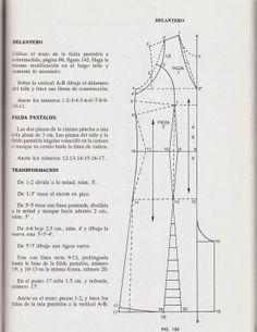 romi w: patrones jumpsuit trazo delantero