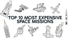🚀   What are the top 10 most expensive space missions?
