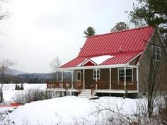 Best Charcoal Grey Siding Red Roof Exterior Colors 640 x 480