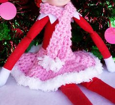 free crochet patterns for elf on the shelf clothes