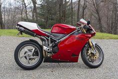 2002 Ducati 998R Frame no. ZDM3H99V12B014705