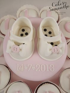 Beautiful shoes by Cakes by Samantha