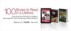 Los 100 libros que debemos leer en la vida, según Amazon