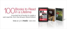 100 must read books from Amazon