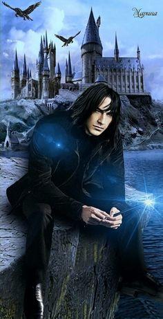Snape Harry Potter, Albus Dumbledore, Harry Potter Fan Art, Young Severus Snape, Severus Rogue, Slytherin, Hogwarts, Alan Rickman, Hermione Granger