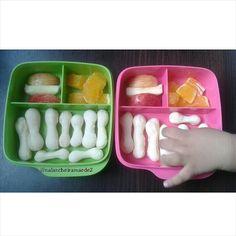 Lanche: biscoito de polvilho+maçã+laranja
