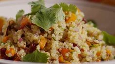 Cranberry and Cilantro Quinoa Salad Video