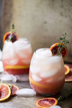 Citrus Thyme Punch