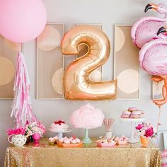 First Second  Birthday Balloon Giant Number 1 by inspiredcompany4u