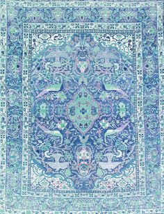 tapestry, blues, decor