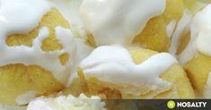 Puliszkagombóc recept képpel. Hozzávalók és az elkészítés részletes leírása. A puliszkagombóc elkészítési ideje: 35 perc Keto Recipes, Snack Recipes, Dessert Recipes, Snacks, Cheesecake Pops, Yummy Mummy, Love Food, Breakfast Recipes, Food Porn